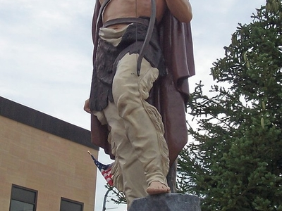 Ishpeming  Michigan Statue