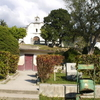 Old Church And Park In Belen