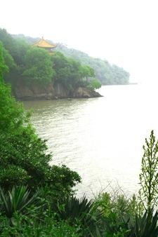 Lake Scenery At Wuxi