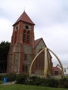 The Church And Whalebone Arch