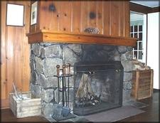 Imnaha Guard Station Fireplace