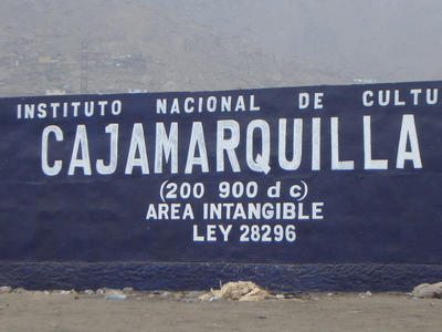 INC Sing  Cajamarquilla