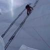 Inside Khumbu Icefall