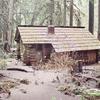 Ipsut Creek Patrol Cabin With Flood Debris