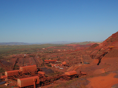 The Mount Tom Price Mine