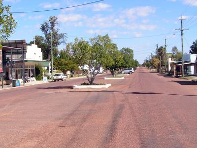 Main Street Of Isisford