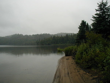 Isle Royale Beach Near Mouth Of Washington Creek