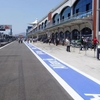 A View Of The Pit Lane