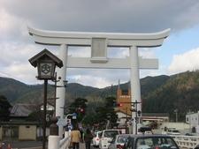 Torri At Izumo-Taisha