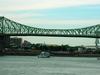 Jacques Cartier  Bridge From The  Concorde  Bridge