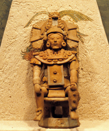 Jaina Island Figure - Campeche - Mexico