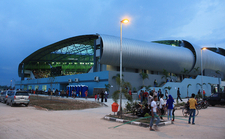 Jakabaring Aquatic Center In Jakabaring Sport City