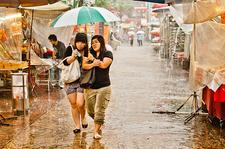 Jalan Petaling In Rain
