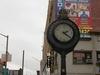 Sidewalk Clock On Jamaica Avenue