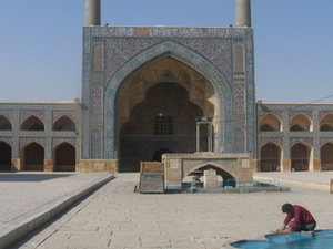 Jameh mezquita de Isfahan