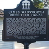 James Wadsworth Rossetter House Historical Marker