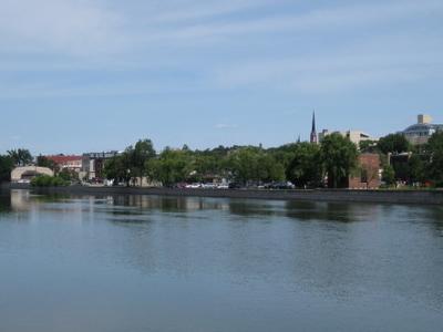 Janesville Across River