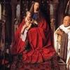 Jan Van Eyck La Madone Au Chanoine Van Der Paele 1 4 3 4