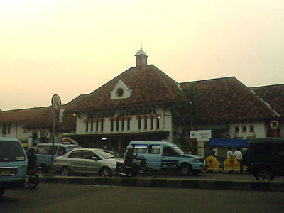 The Front Facade Of The Jatinegara Station