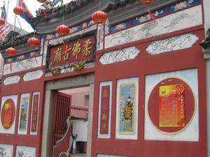 Johor Bahru Antiguo Templo Chino