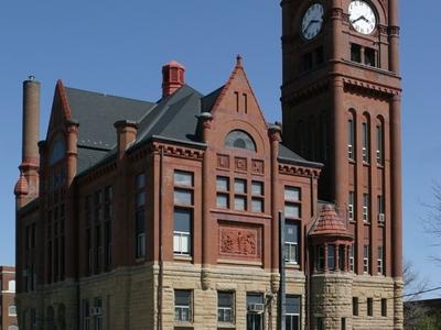 Jefferson  County  2 C  Iowa  Courthouse