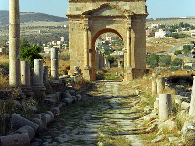 Jerash 3 0  North Tetrapylon  2 8js  2 9