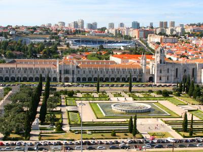View Of The Praça Do Império