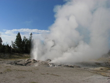 Jet Geyser - Yellowstone - USA