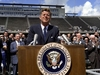 President Kennedy Speaks At Rice Stadium