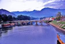 Jhelum River In Srinagar J&K