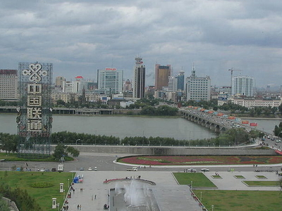 Jilin Bridge And Century Square