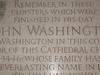 John  Washington Plaque