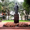 Statue Of John Wesley In Reynolds Square
