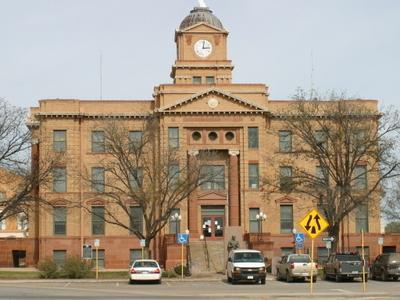 Jones County Courthouse Anson Texas