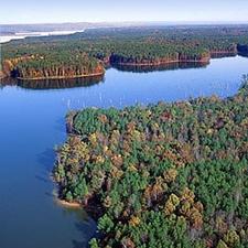View Of Jordan Lake State Recreation Area
