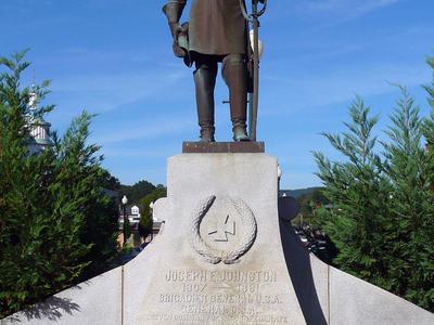 Joseph  E  Johnston Monument In  Dalton  G A