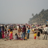 Juhu Beach - Crowded On A Holiday
