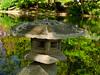 Japanese Lantern In Japanese Garden.