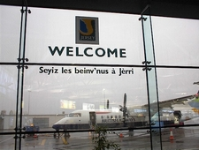 Jersey Airport Signage