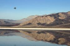 Jet Above The Saline Valley