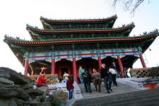 A Three-story Pavilion