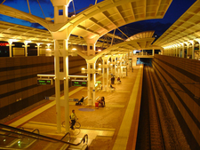 Joondalup Station At Night