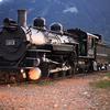 K-37 Steam Locomotive #493 In Silverton Yard