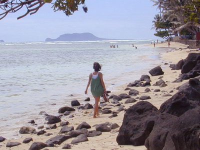Kaaawa  Beach Walk