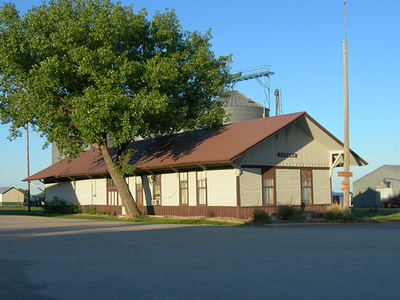 Kadoka Train Depot