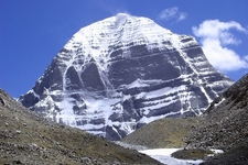 The North Face Of Mount Kailash