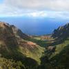 Kalalau Valley Viewed From The Nā Pali Kona Forest Reserve Pihea Trail