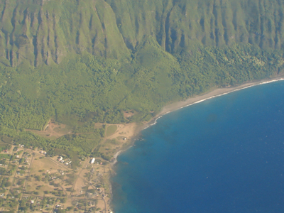 Kalaupapa Village Cliffs