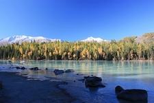 Kanas Lake - Forests & Mountains