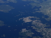 Karlskrona From Plane